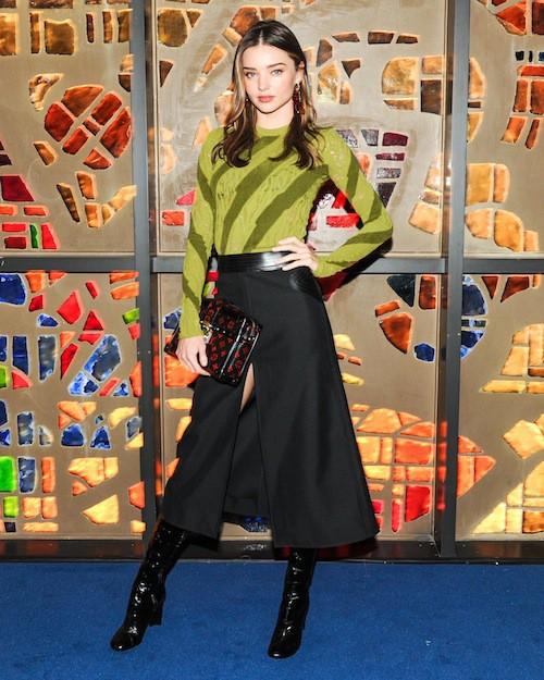 Miranda Kerr au dîner Louis Vuitton à Miami le 2 décembre 2014