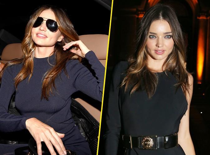 Miranda Kerr : la beauté australienne déverse tout son charme et son glamour à la Fashion Week de Paris !