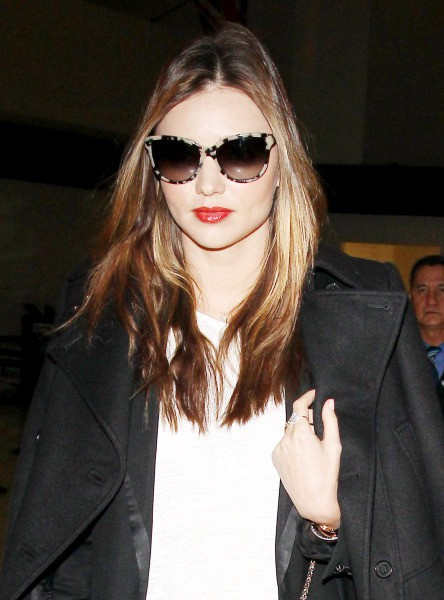 Miranda Kerr à l'aéroport de Los Angeles, le 4 novembre 2013.