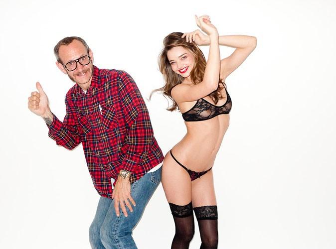 Miranda Kerr : les coulisses hot hot hot de son dernier shooting avec Terry Richardson !