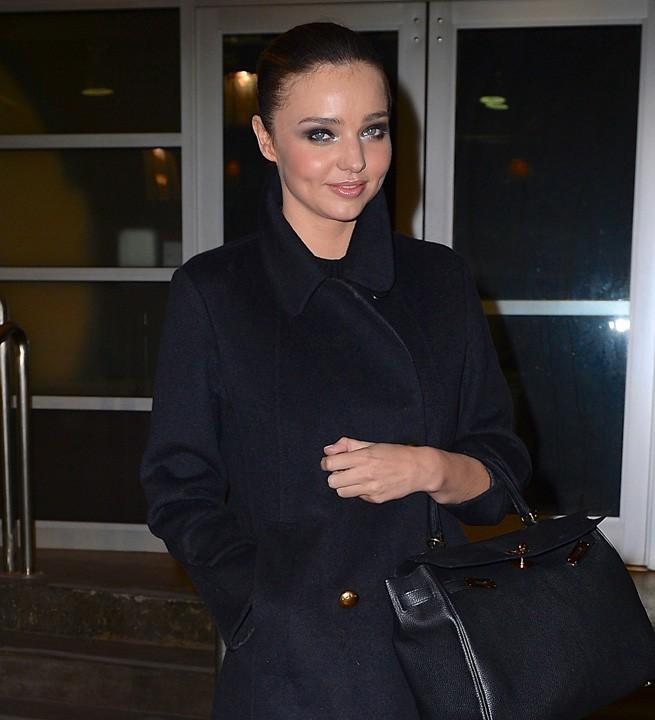 Miranda Kerr à New-York le 30 janvier 2014