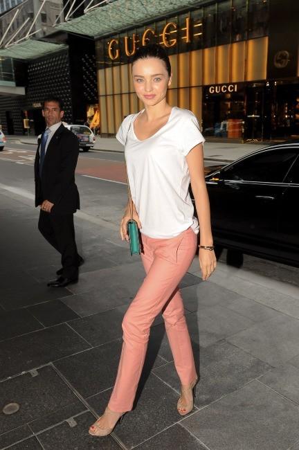 Miranda Kerr à Sydney, le 15 février 2012.