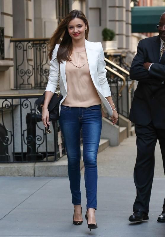 Miranda Kerr à New York, le 9 septembre 2013.
