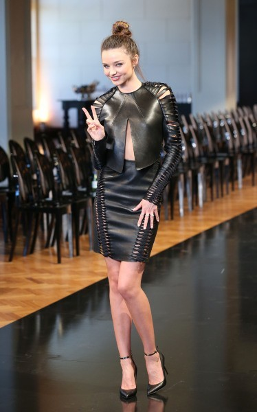 Miranda Kerr lors du défilé Automne-Hiver 2013 à Sydney, le 6 février 2013.
