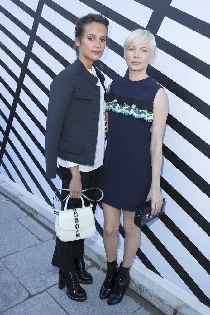 Alicia Vikander et Michelle Williams