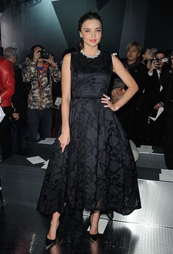 Miranda Kerr à Paris le 26 février 2014