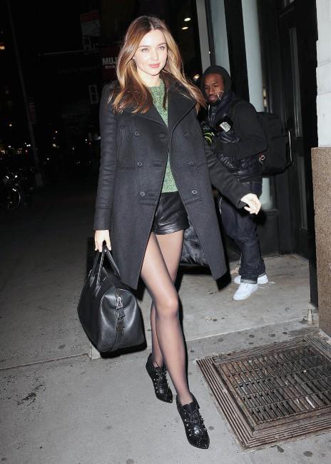 Miranda Kerr le 28 novembre 2012 à New York