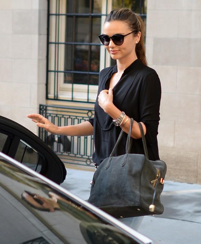 Miranda Kerr à New York, le 21 octobre 2013.