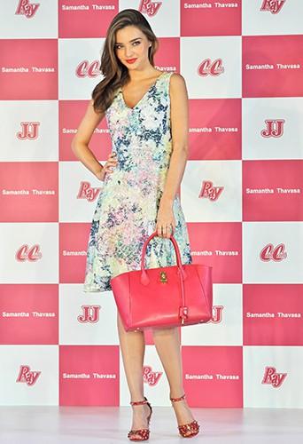 Miranda Kerr au Japon le 19 juillet 2013