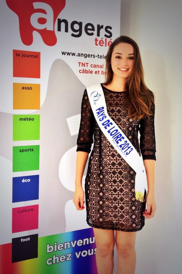 Marie Plessis - Miss Pays de Loire