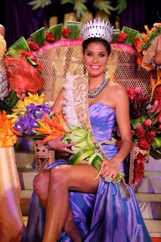 Mehiata Riaria - Miss Tahiti
