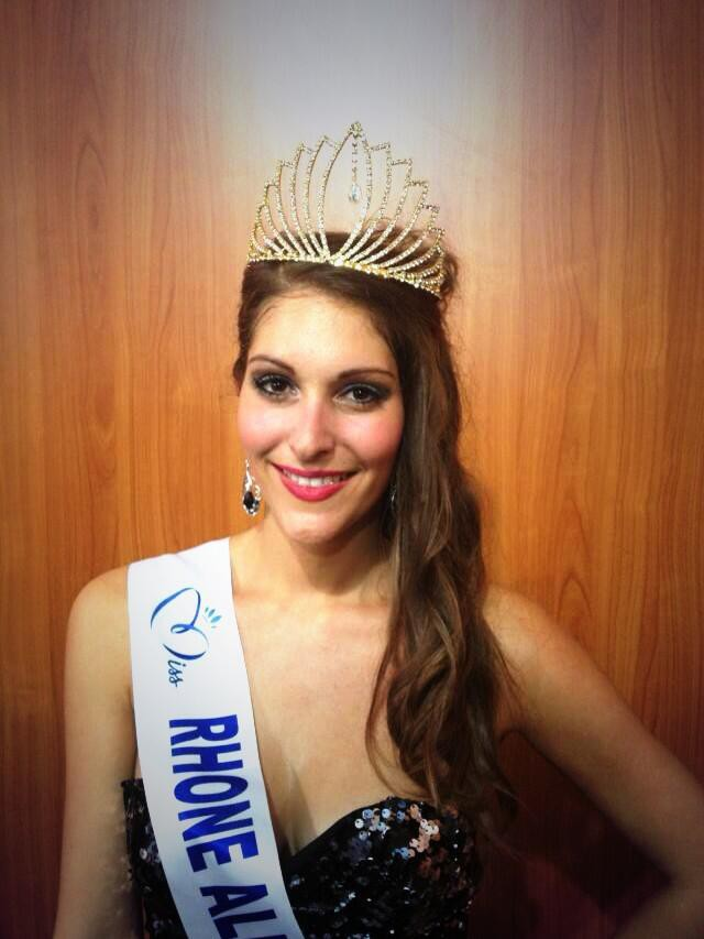 Mylène Angelier - Miss Rhône-Alpes