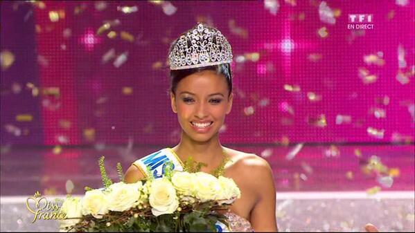 Flora Coquerel élue Miss France 2014 à Dijon le 7 décembre 2013