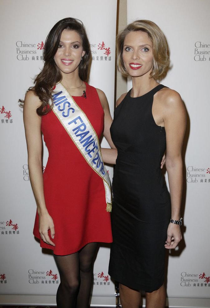 Miss France et Sylvie Tellier