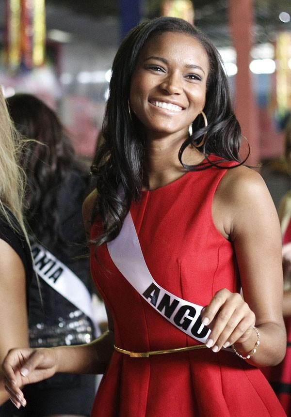 Un vrai sourire de Miss !