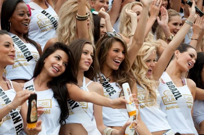 Miss France 2011 ne se laisse pas abattre !
