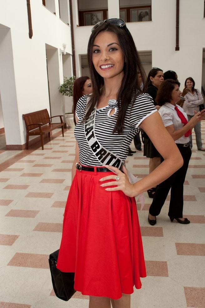 La très frêle Miss Grande-Bretagne