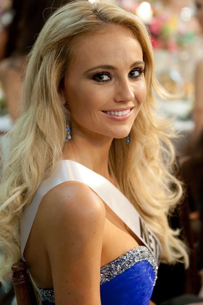 La très mignonne Miss Pays-Bas
