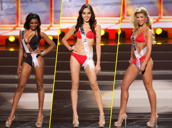 Photos : Miss Univers : toutes canons en maillots de bain, mais on a notre TOP 25 !