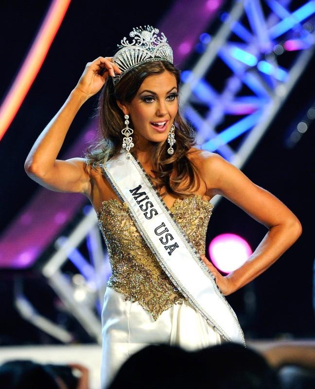 Erin Brady, élue Miss USA 2013 à Las Vegas, le 16 juin 2013.