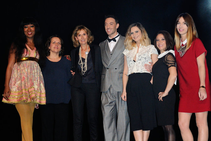 Nadège Beausson-Diagne, Maxime Dereymez , Clara Morgane, Laetitia Heller, Sophie-Charlotte Orlowska Joan Faggianelli.