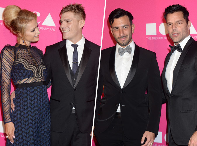 Moca Gala 2017 : Paris Hilton et Chris Zylka VS Ricky Martin et Jwan Yosef... Battle de couples !