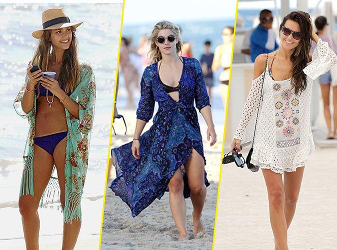 Photos : Mode : Filiforme, voluptueuse ou athlétique : Shopping spécial plage !