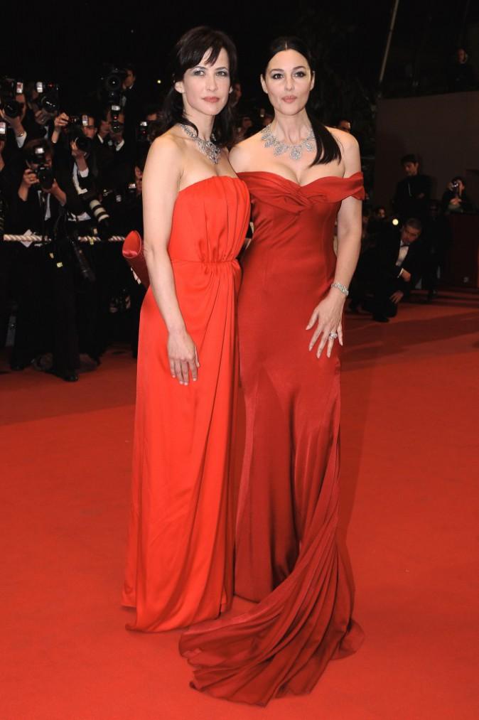 Monica Bellucci et son duo de choc avec Sophie Marceau en 2009