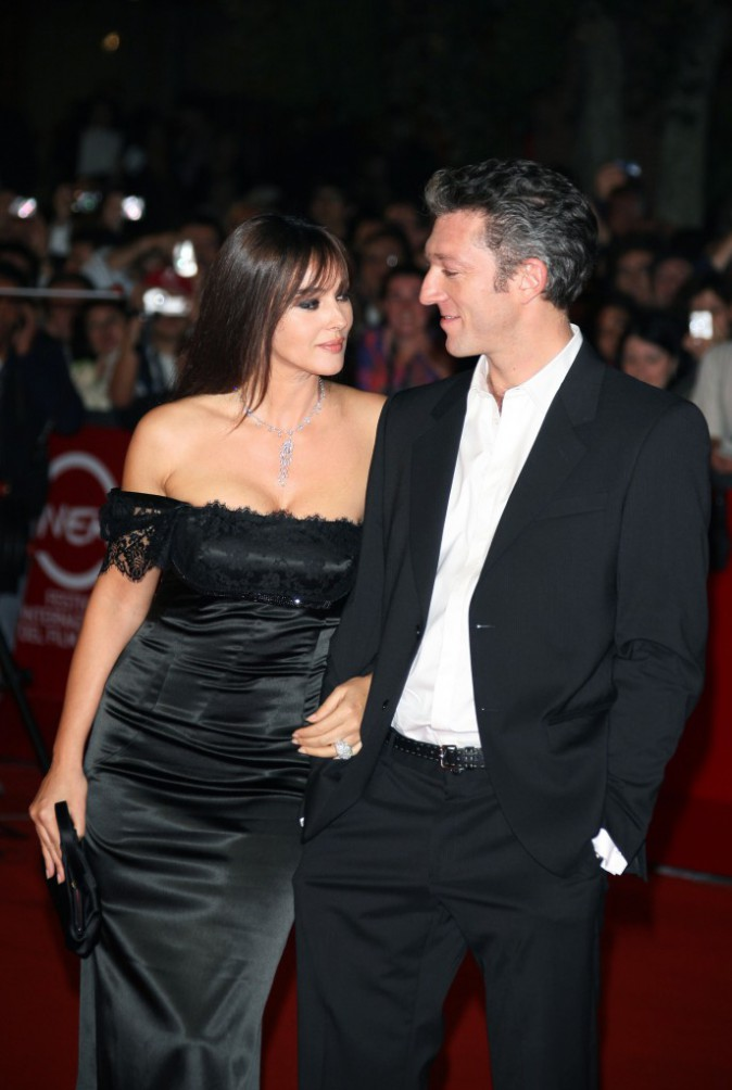 Monica Bellucci et Vincent Cassel en 2008