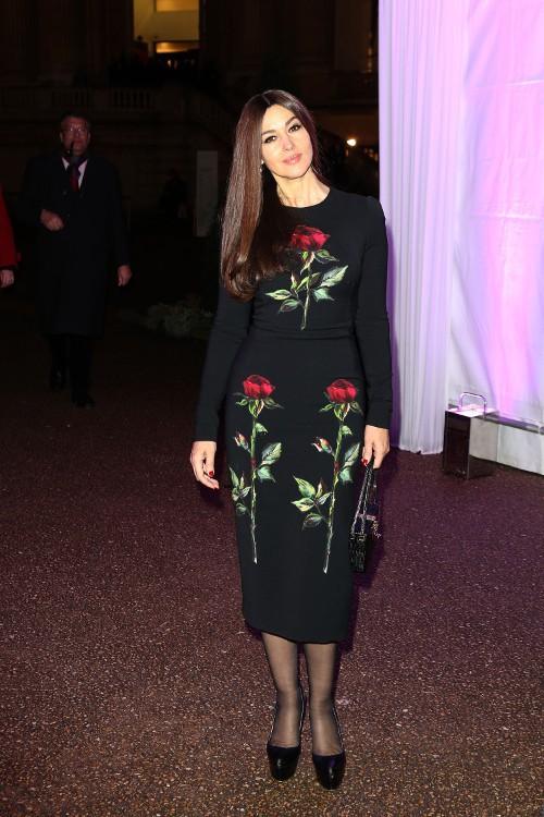 Monica Bellucci à Paris le 26 mars 2015