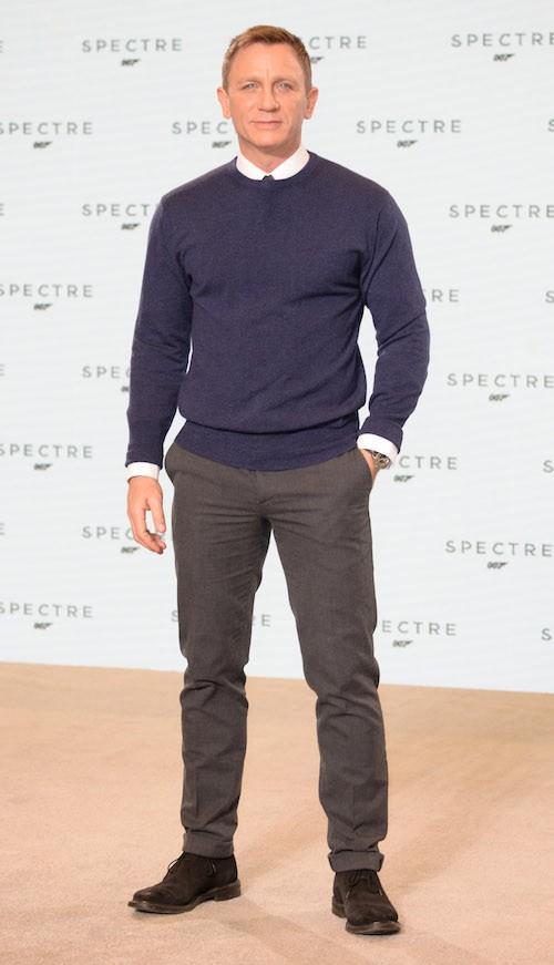 Daniel Craig lors du photocall de Spectre, le nouveau James Bond, le 4 décembre 2014 !