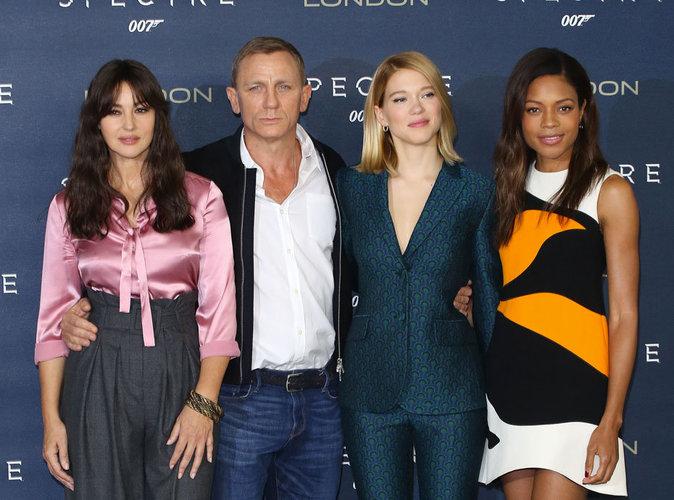 Photos : Monica Bellucci, Léa Seydoux, Naomie Harris : les James Bond Girls à l'attaque !