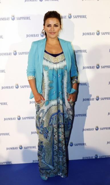 Monica Cruz en promo pour Bombay Sapphire Gin à Madrid, le 5 juin 2013.