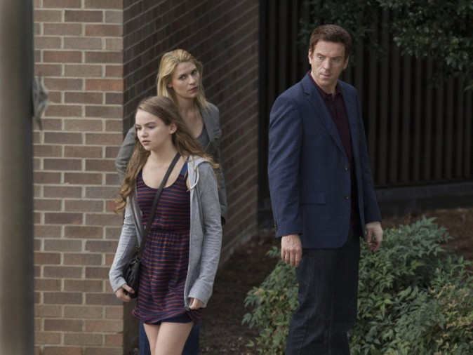 Morgan Saylor alias Dana Brody dans la série Homeland !