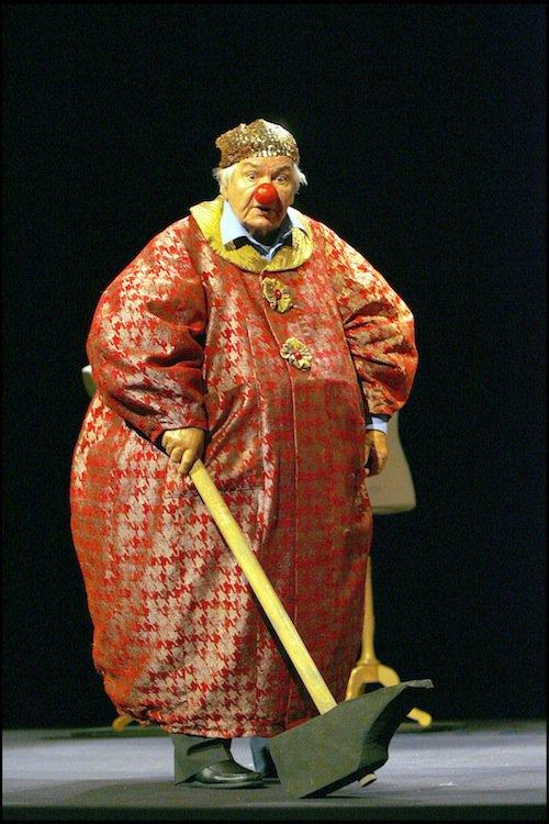 Dans la pièce de théâtre Les Chaussettes - Opus 124, en 2007