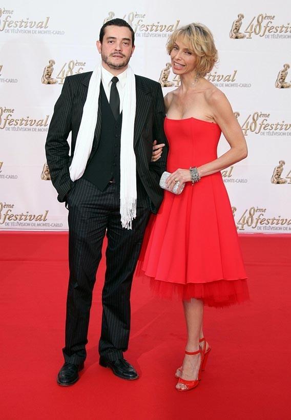 Stéphane Slima avec Tonya Kinzinger au 48ème Festival de Monte-Carlo en 2007