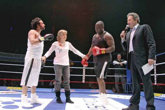 Combat de boxe contre Cyril Hanouna !