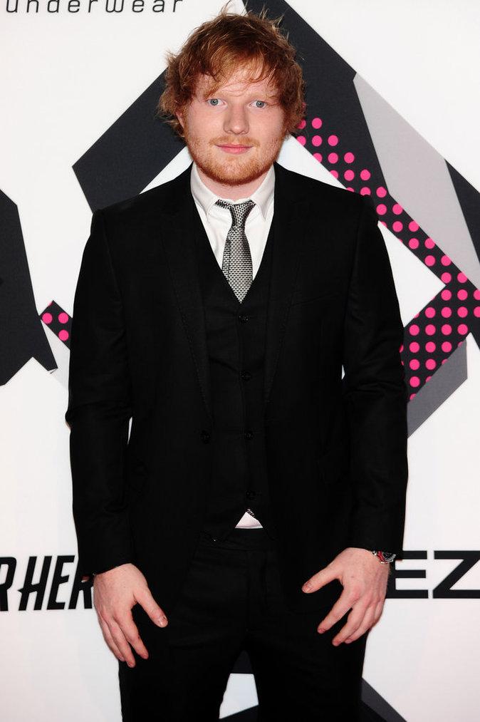 Ruby Rose et Ed Sheeran le 25 octobre 2015