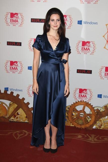 Lana Del Rey le 11 novembre 2012 à Francfort
