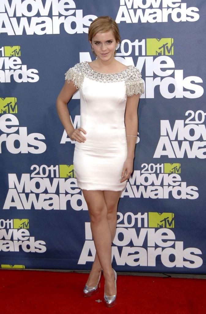 Emma Watson, magnifique dans sa robe Marchesa !
