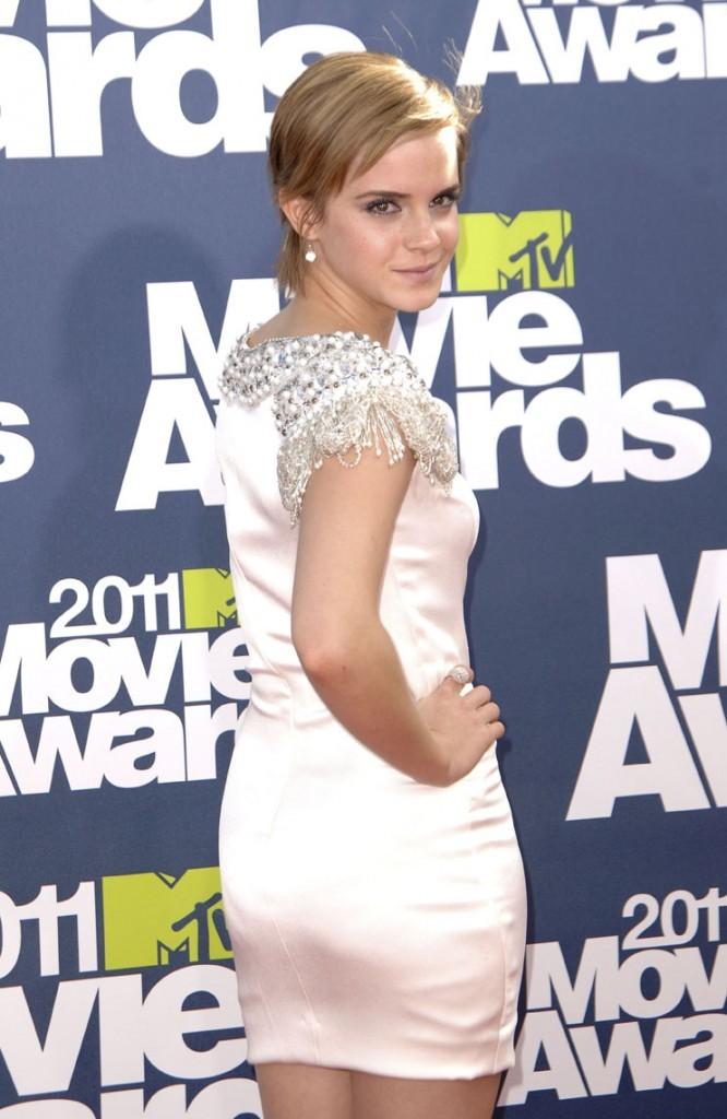 Pose sexy pour Emma Watson !