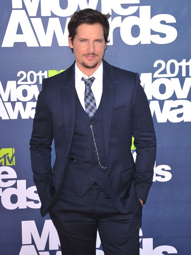 Peter Facinelli lors des MTV Movie Awards 2011, le 5 juin 2011 à Universal City.