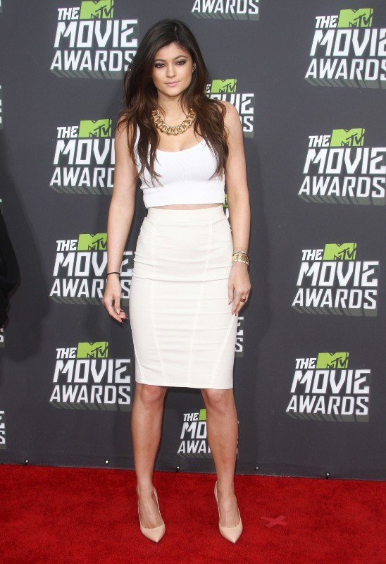 Kylie Jenner lors des MTV Movie Awards 2013 à Los Angeles, le 14 avril 2013.