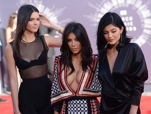 Photos : MTV VMA 2014 : Kim Kardashian, Kendall et Kylie Jenner : un trio glam et sexy !