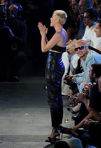 Miley Cyrus à Inglewood le 24 août 2014