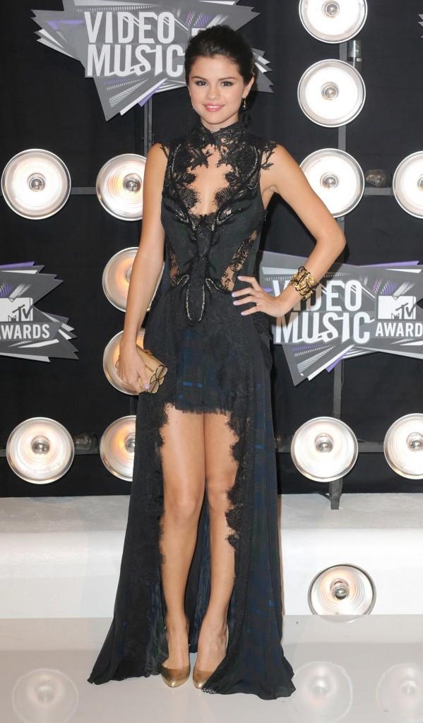 Selena Gomez lors des MTV VMA's 2011 à Los Angeles, le 28 août 2011.
