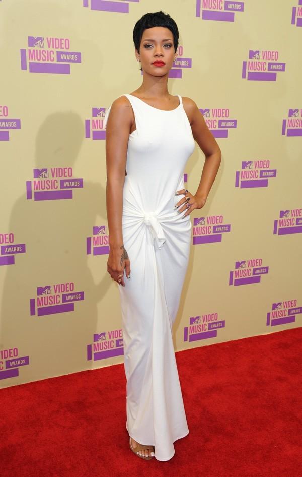 Rihanna aux MTV VMA's à Los Angeles le 6 septembre 2012