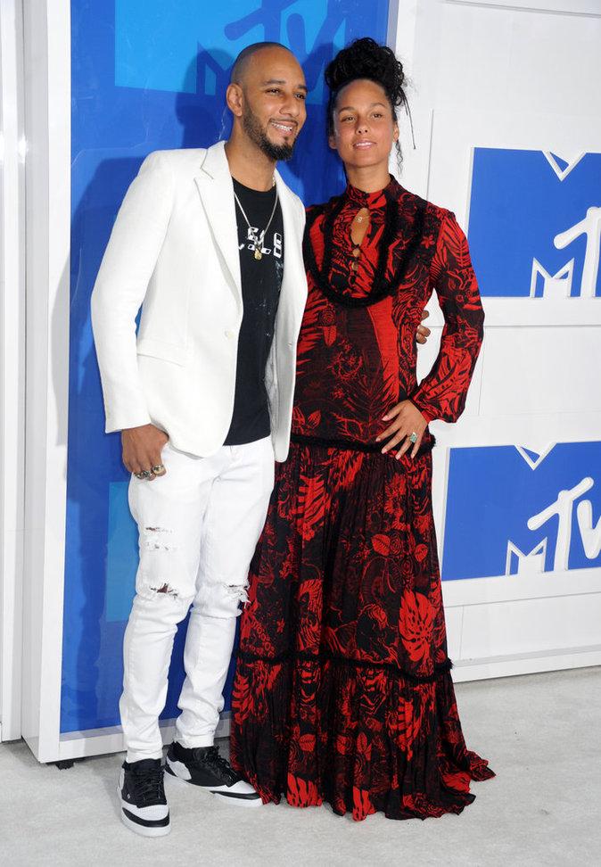 MTV VMA's 2016 : Alicia Keys toujours au naturel et toujours aussi in love !