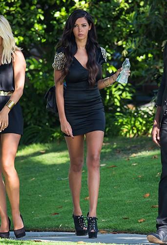 Nabilla Benattia à Los Angeles le 6 août 2013