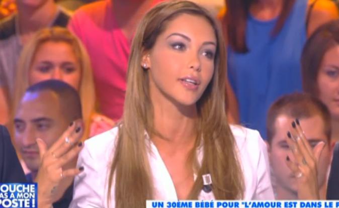 """Photos: Nabilla: découvrez ses premiers pas dans """"Touche pas à mon poste"""" !"""